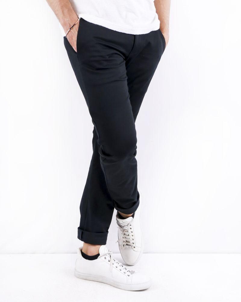 Pantalon skinny noir Kazuyuki Kumagai