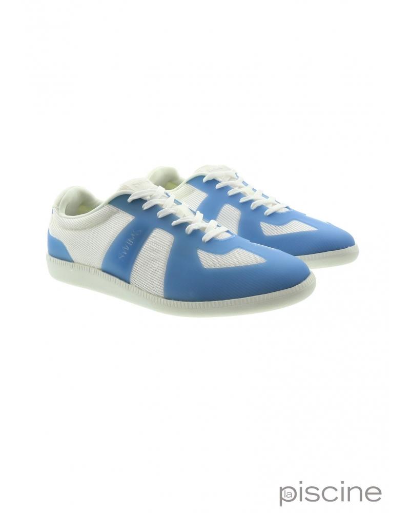 Basket bleu et blanche Swims