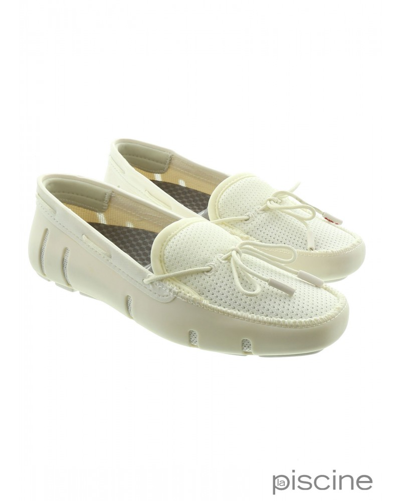 Mocassin blanc Swims
