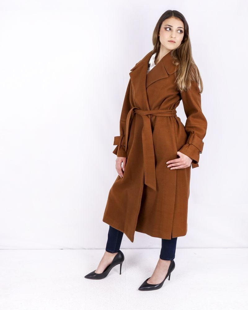 Trench coat camel Isabelle Blanche