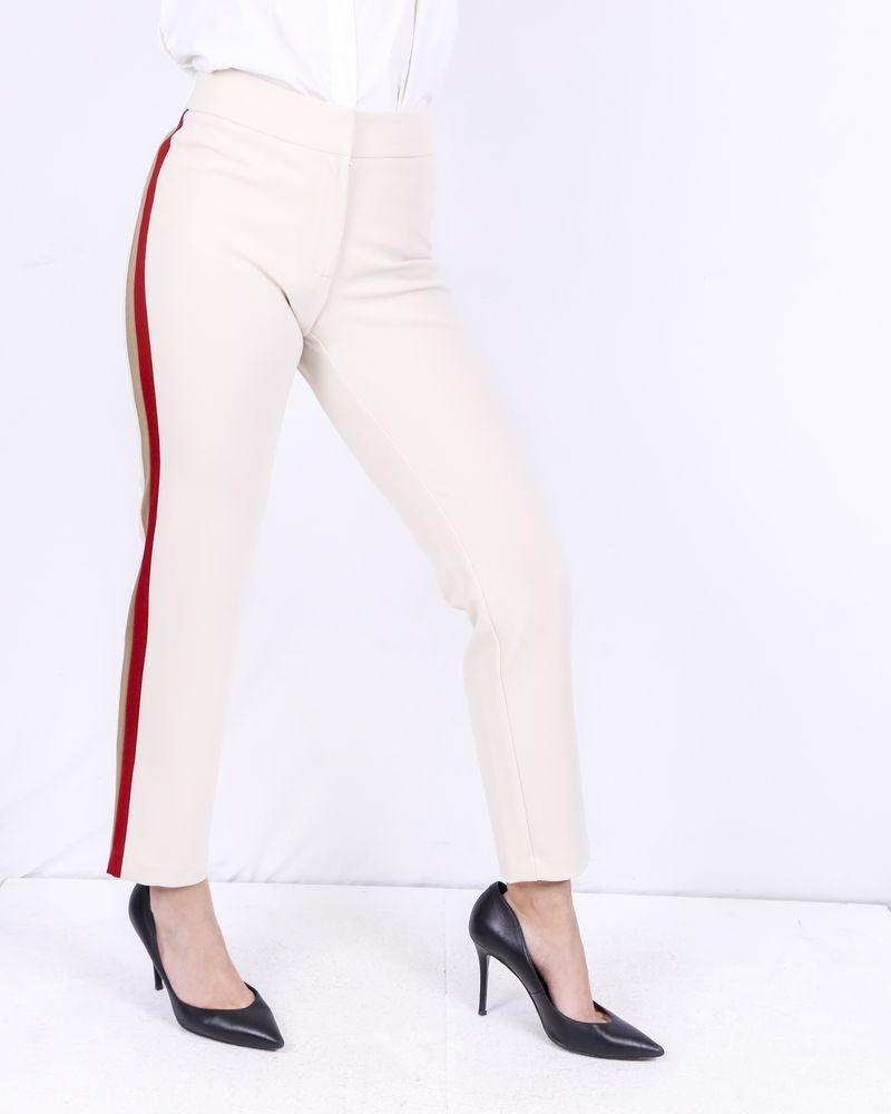 Pantalon beige à bandes latérales SVNTY