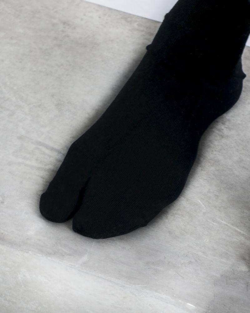 Chaussettes Tabi noire Maison Martin Margiela