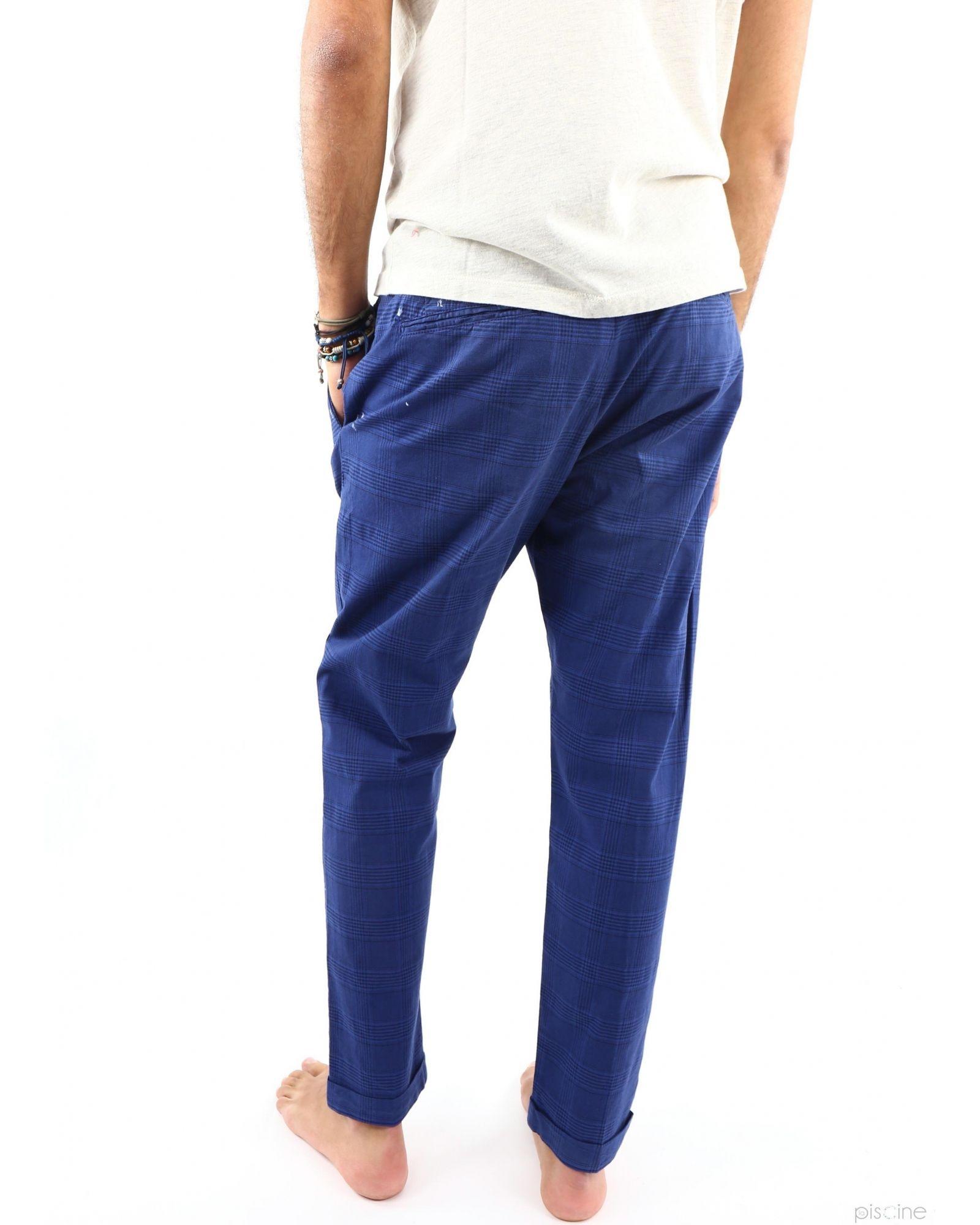 Pantalon à pinces bleu TrueNYC