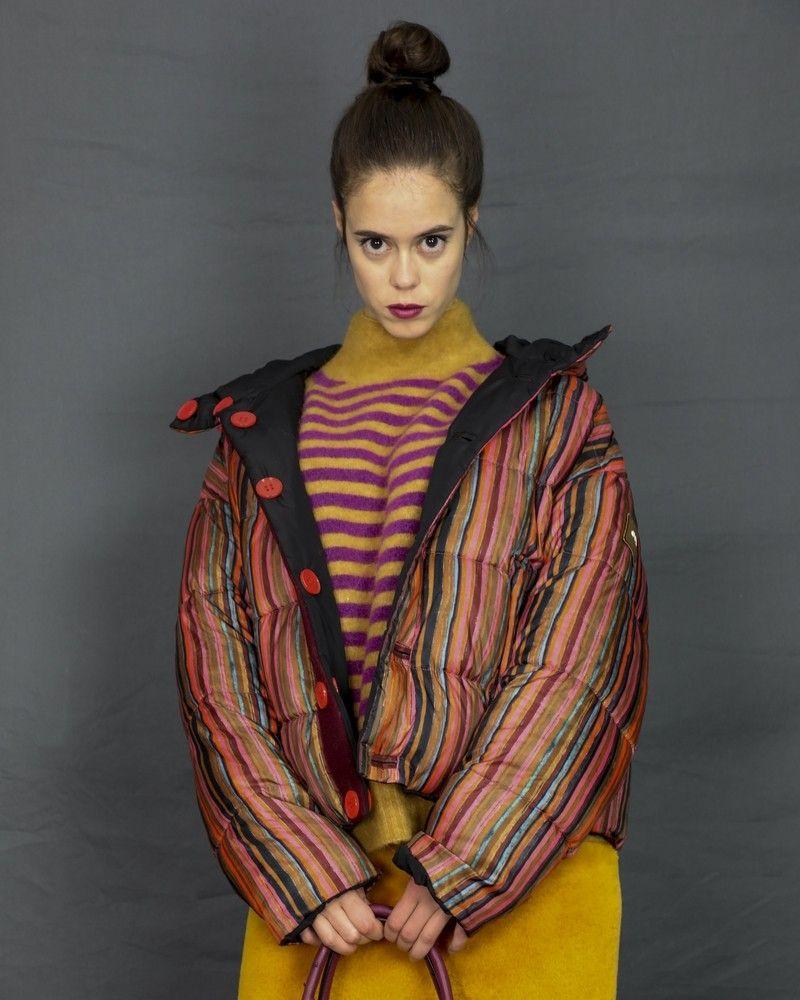 Doudoune multicolore reversible Oofwear