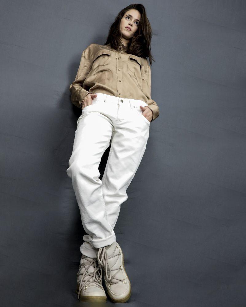 Jean skinny blanc Dondup