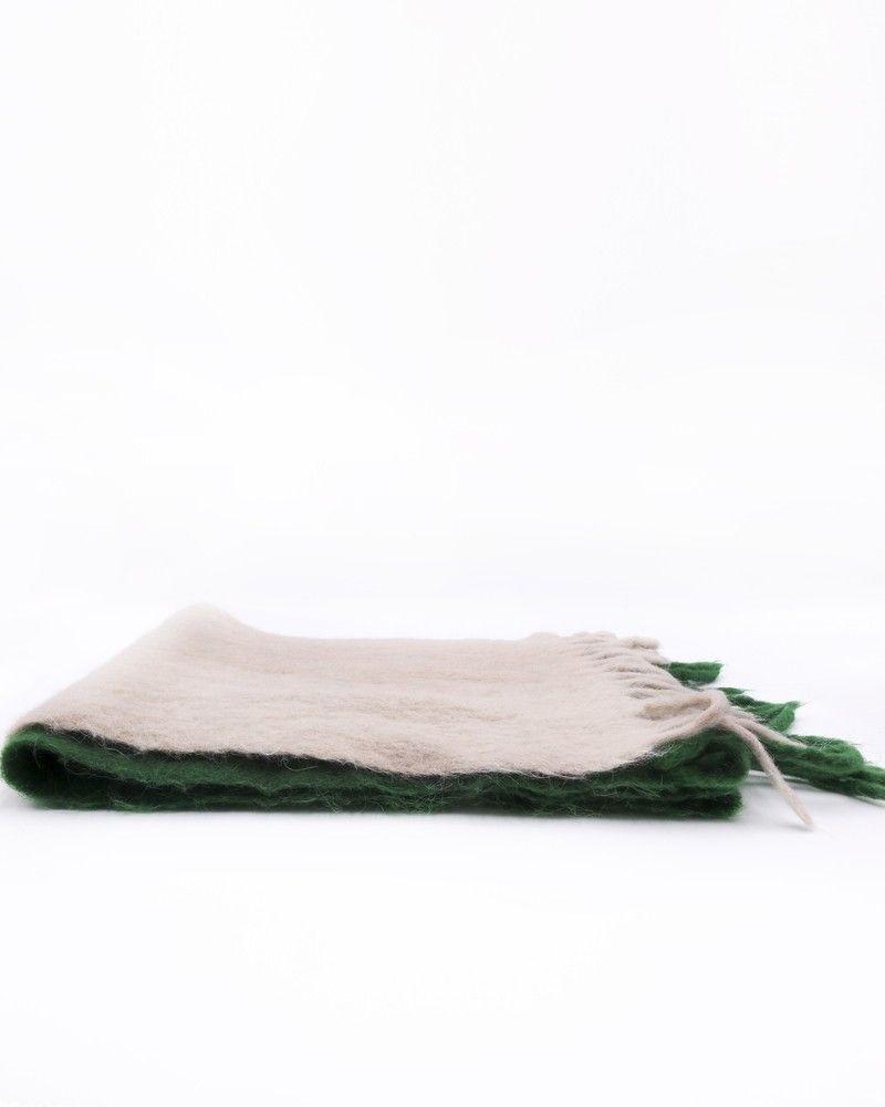 Écharpe en mohair bicolore à franges Forte Forte