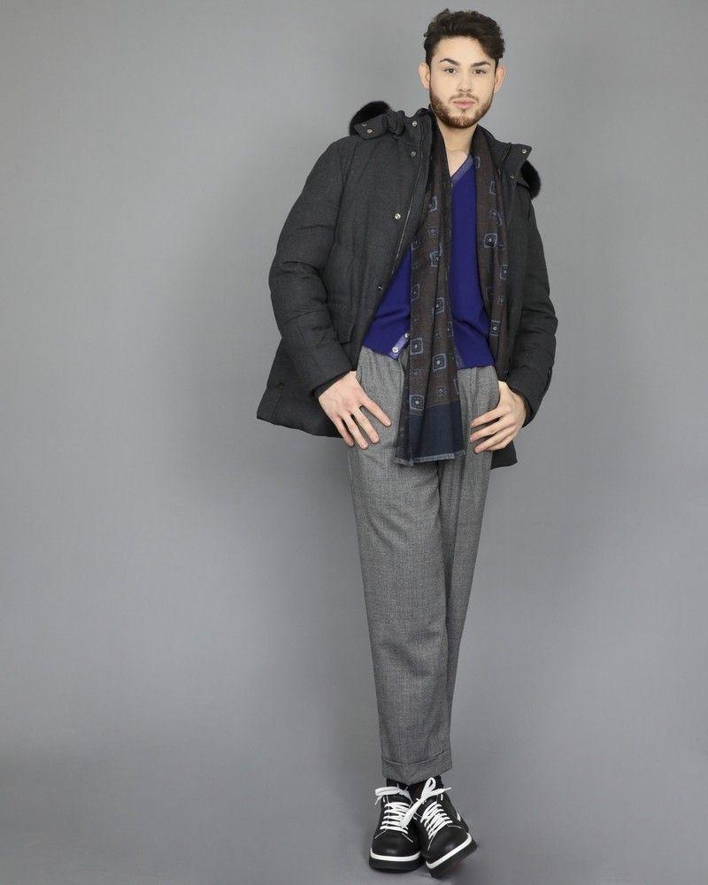Cardigan en laine superfine Roda