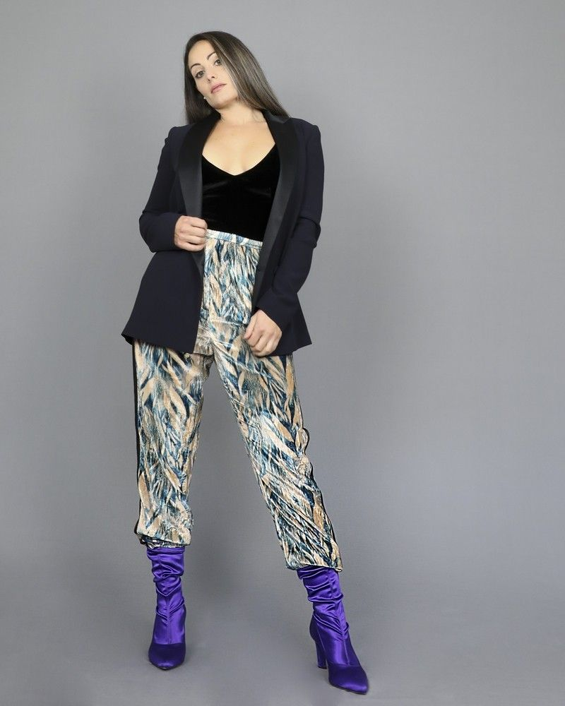 Pantalon survêtement en velours Forte Forte