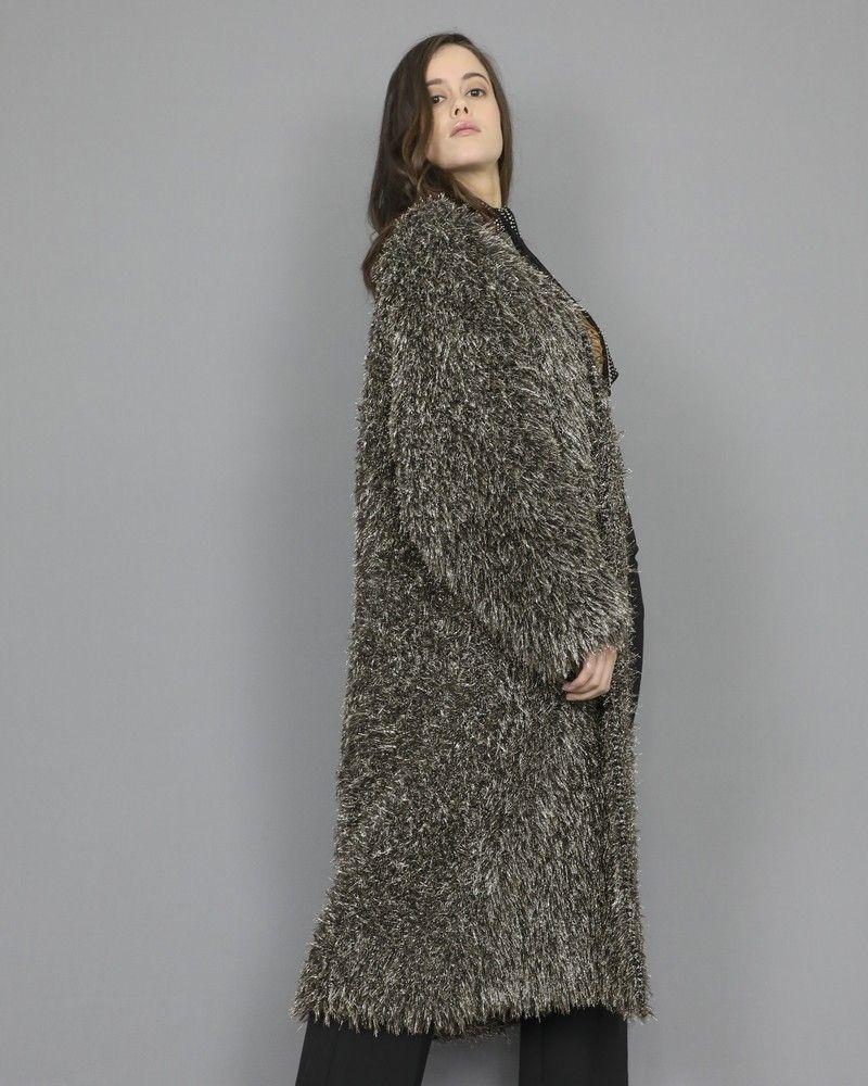 Manteau en fibres métalliques Momoni