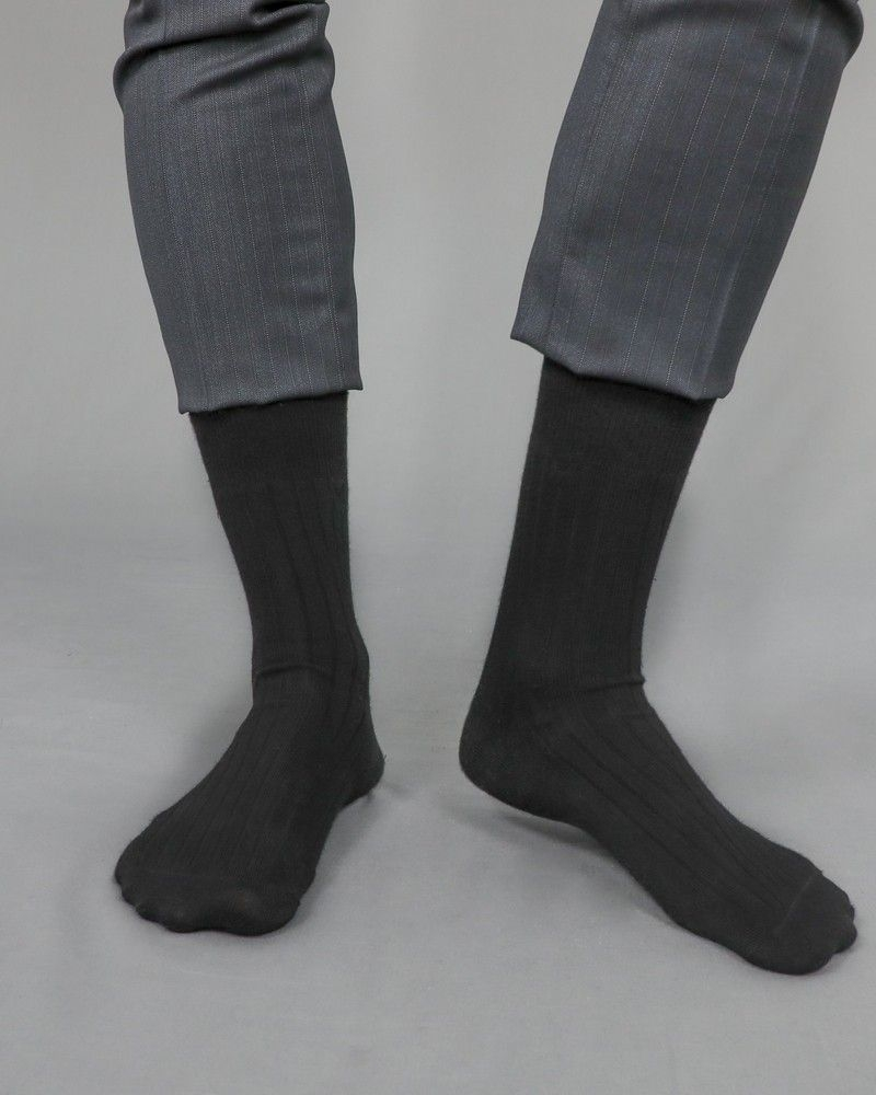 Chaussette en coton noire Liu Jo
