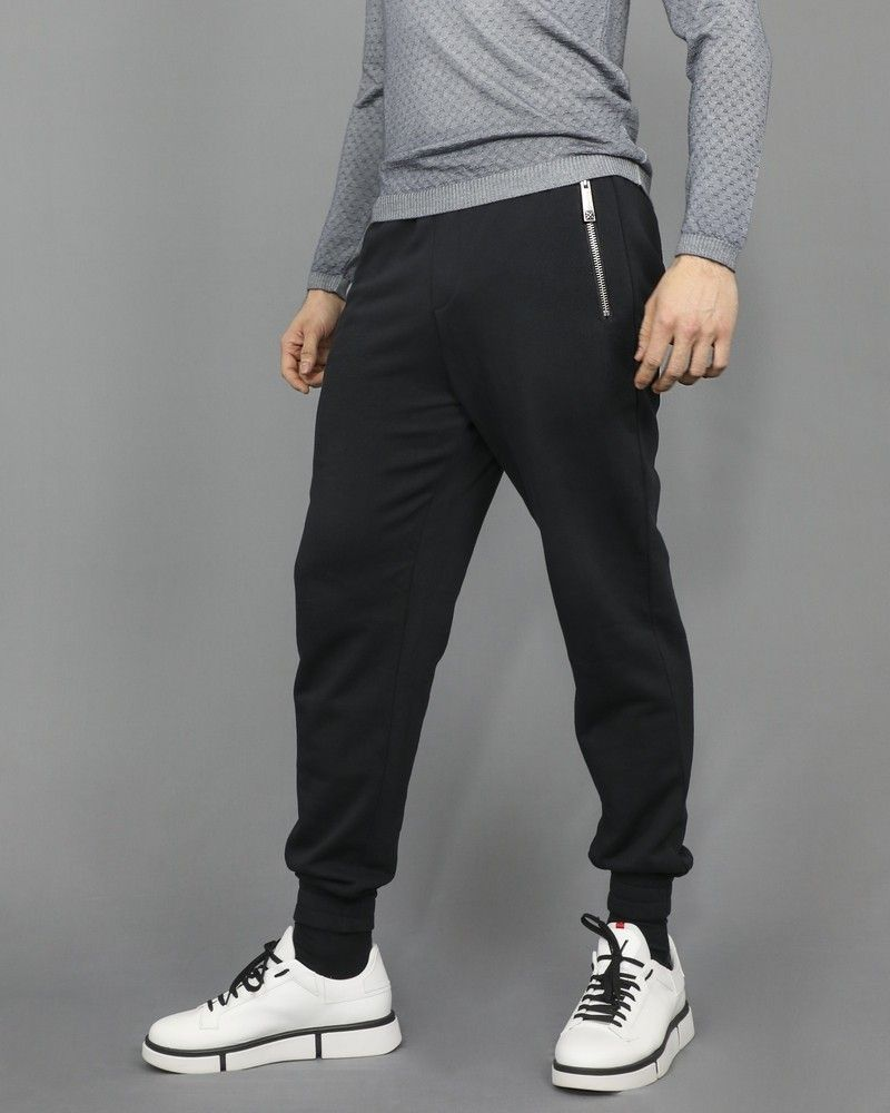Pantalon de jogging noir John Richmond