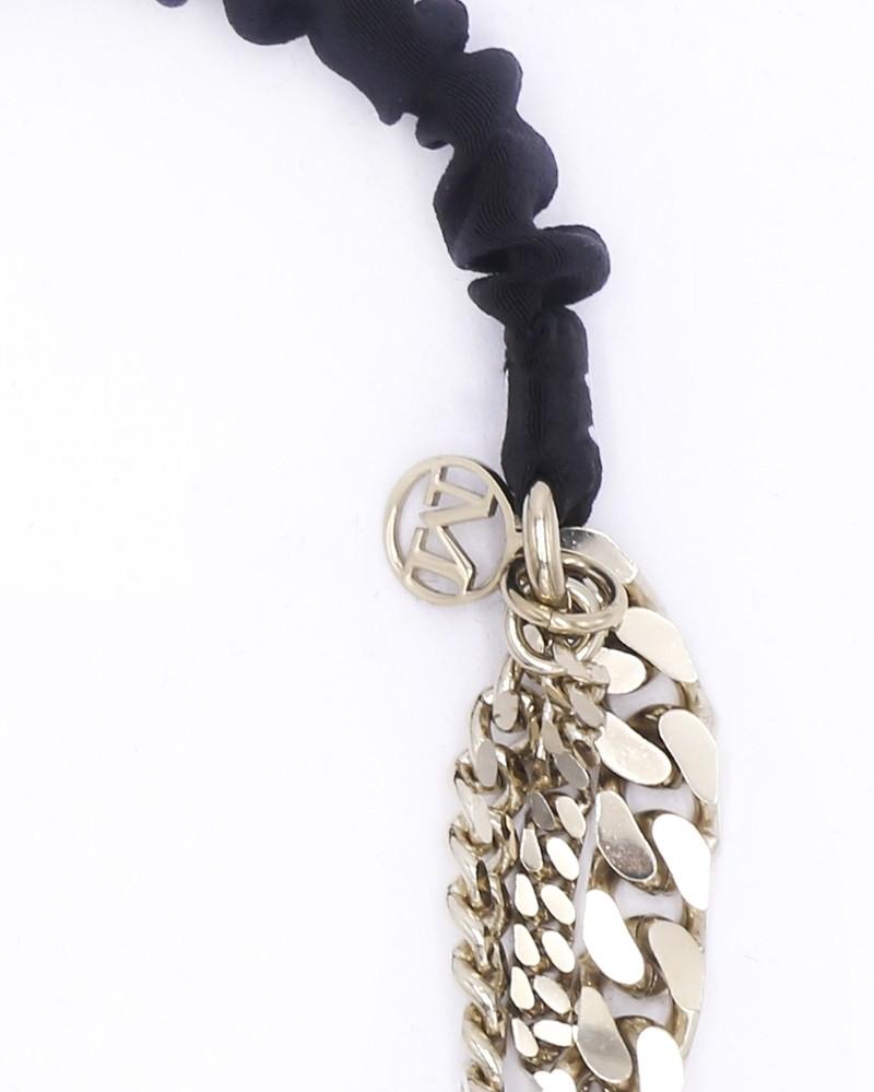 Bijoux de tête à chaîne dorée Maison Michel