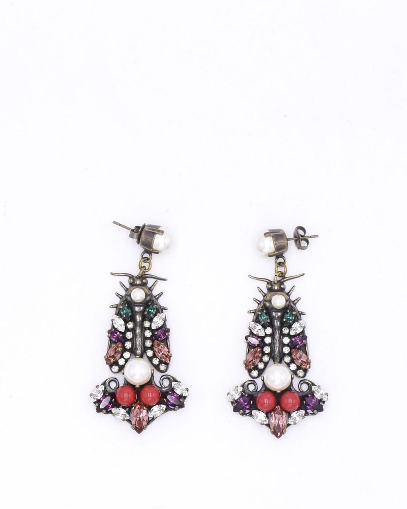 Bijoux d'oreille en cristaux Swarovski Anton Heunis