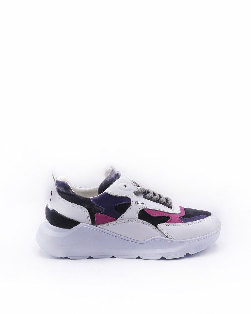 Sneakers tricolores D.A.T.E