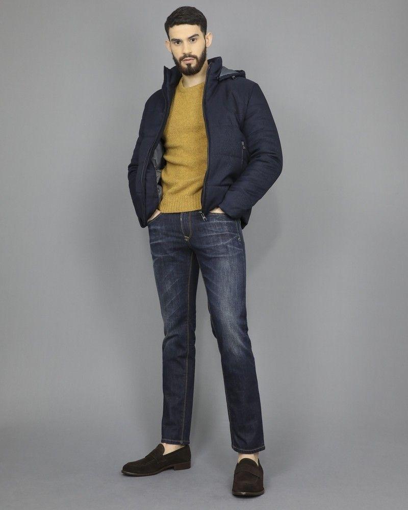 Jean coupe droite à 5 poches 3D