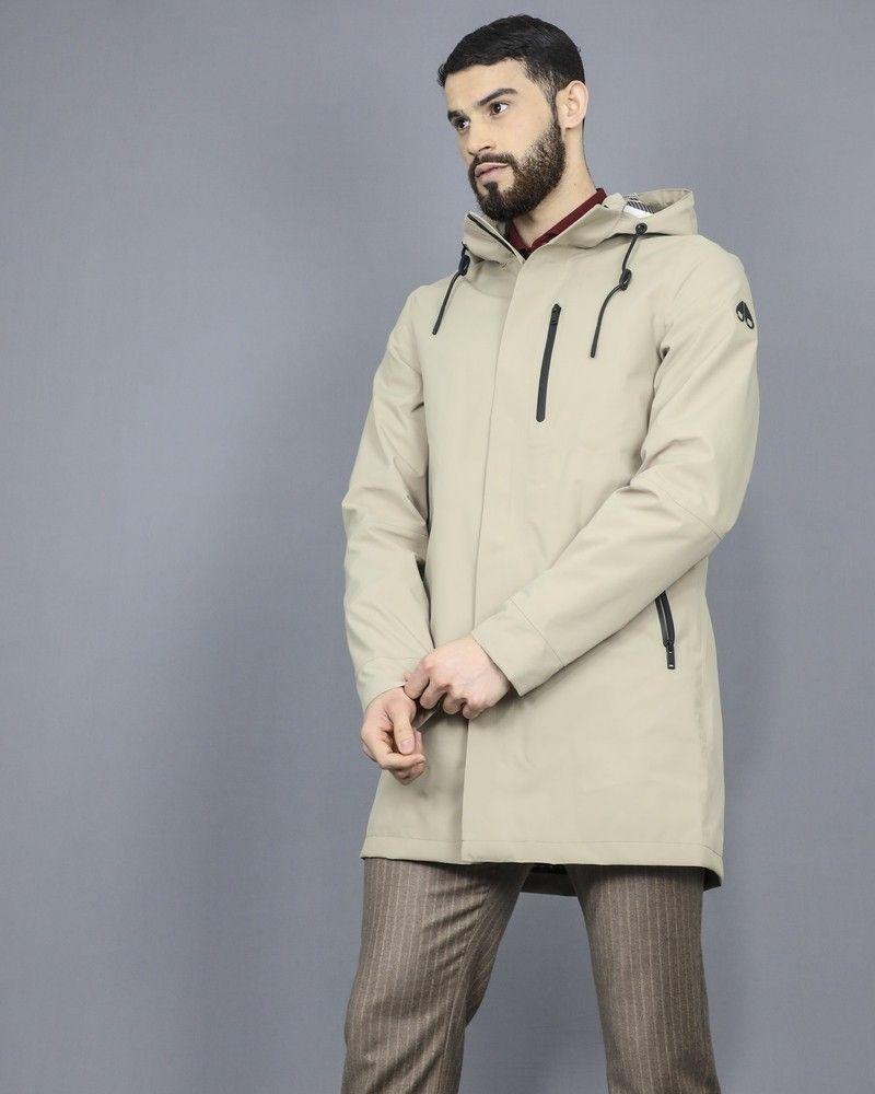 Manteau imperméable à capuche Moose Knuckles
