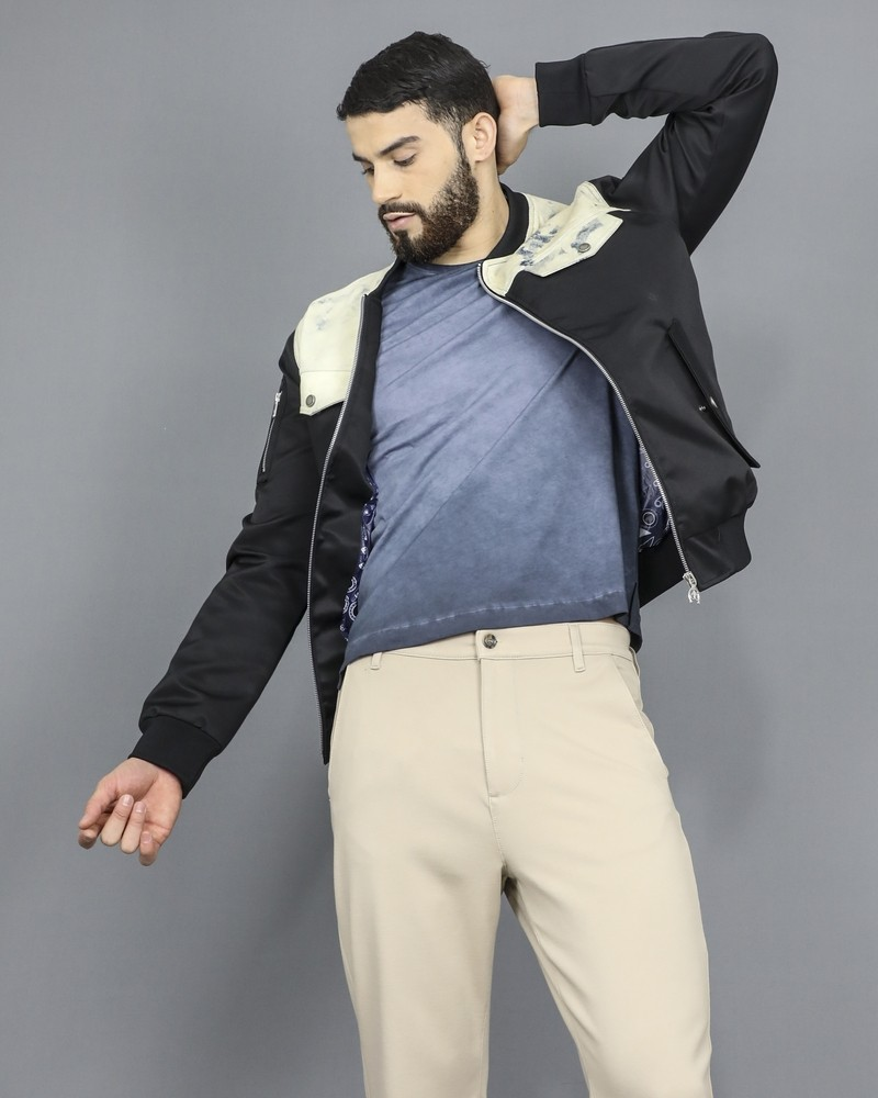Pantalon chino en maille beige 7 for All Mankind