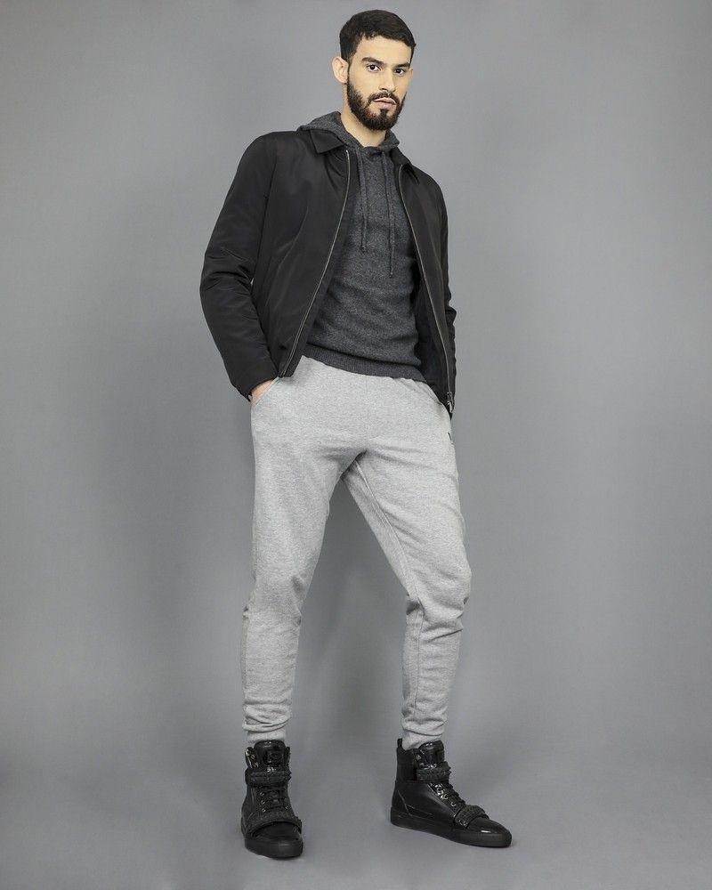 """Pantalon de survêtement en coton mélangé imprimé logo """"Rich"""" John Richmond"""
