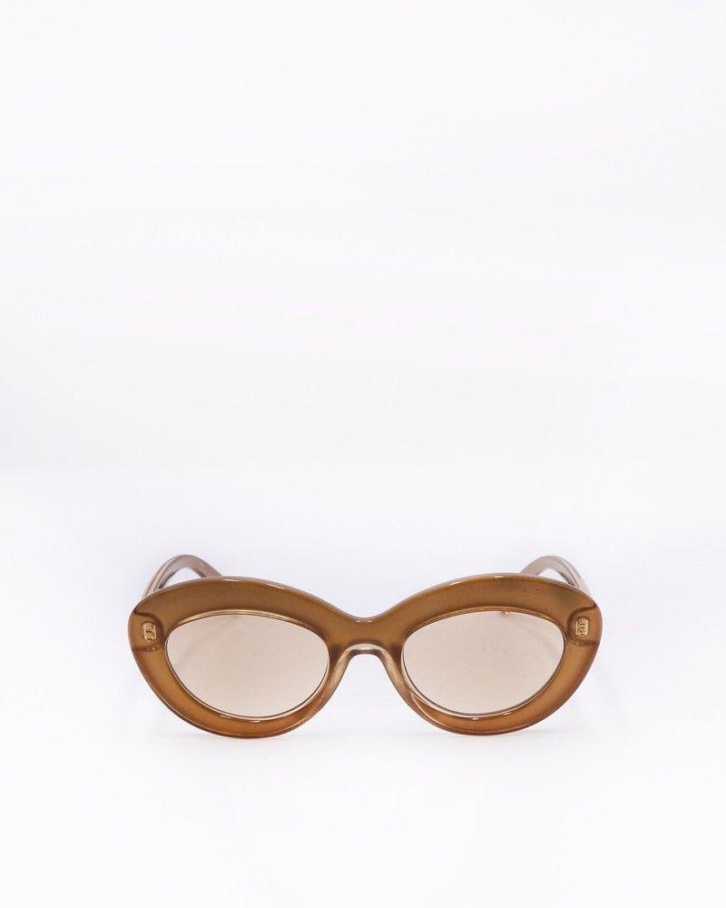 Lunettes de soleil oeil-de-chat en acétate Le Specs