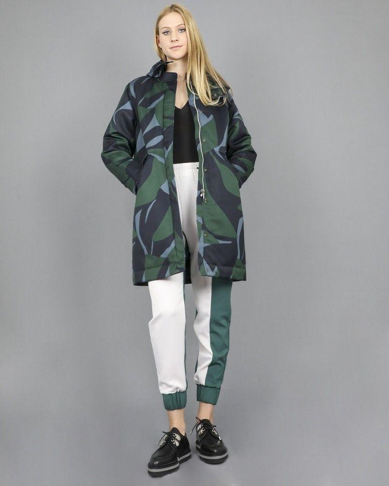 Doudoune camouflage Chloe Stora