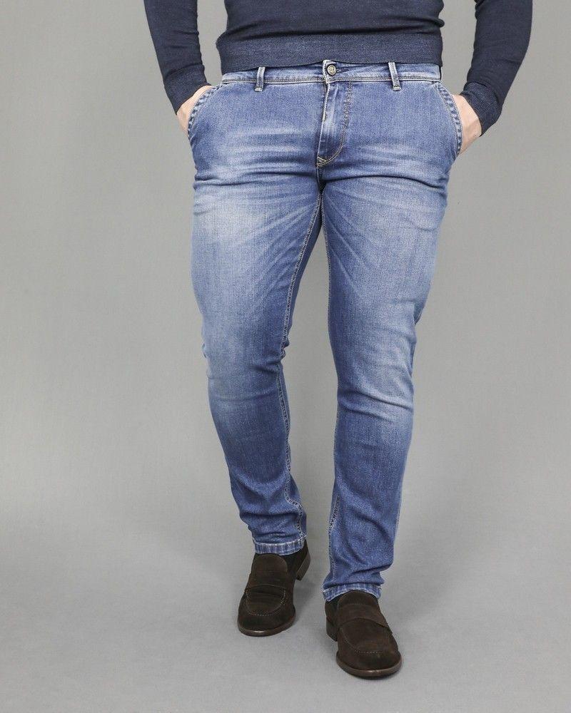 Pantalon jeans à 5 poches Broken 3D
