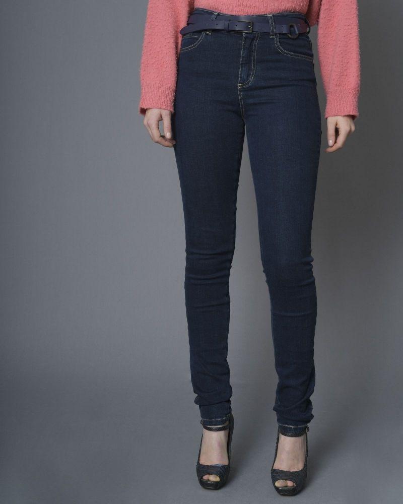 Jean skinny taille haute Maria Grazia Severi