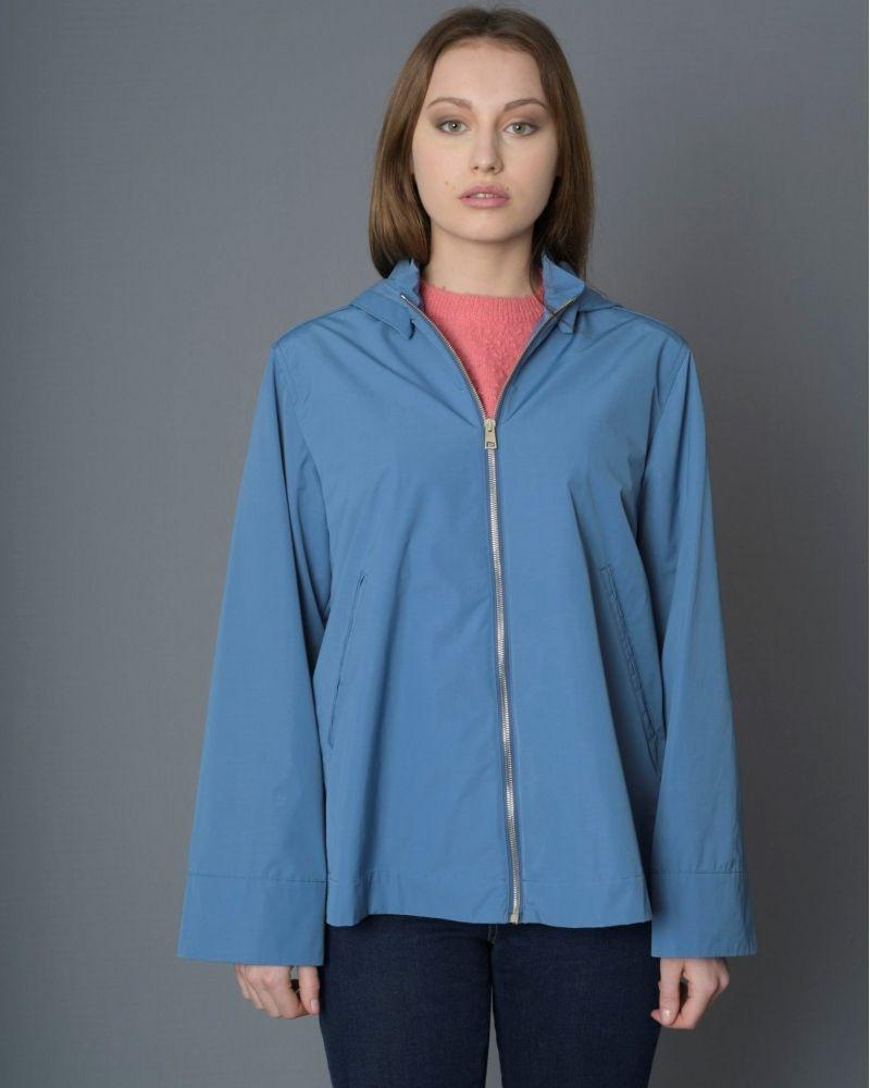 Veste bleu en tissu technique Paltò