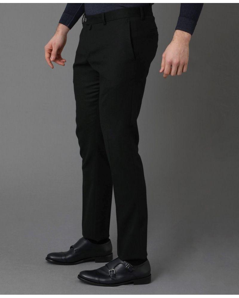 Pantalon noir en laine Archive