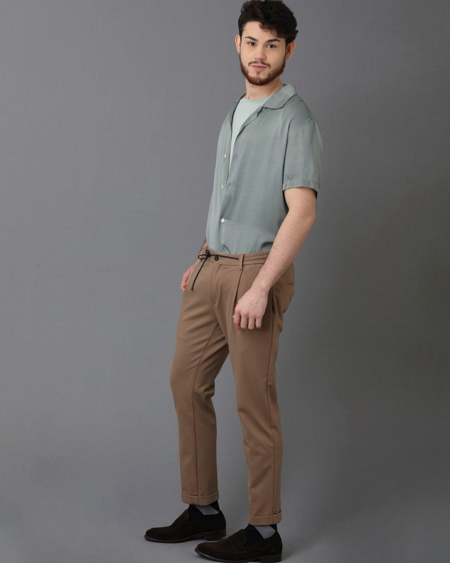 Pantalon beige Casheart