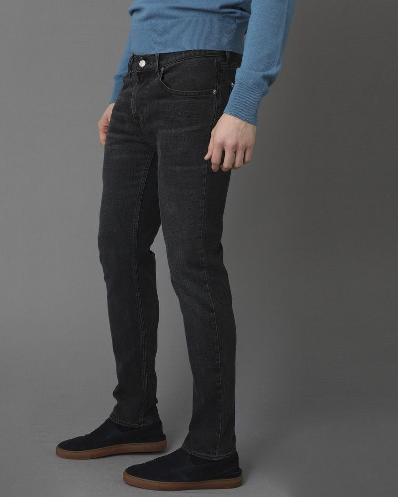Jean gris à cinq poches For all Mankind