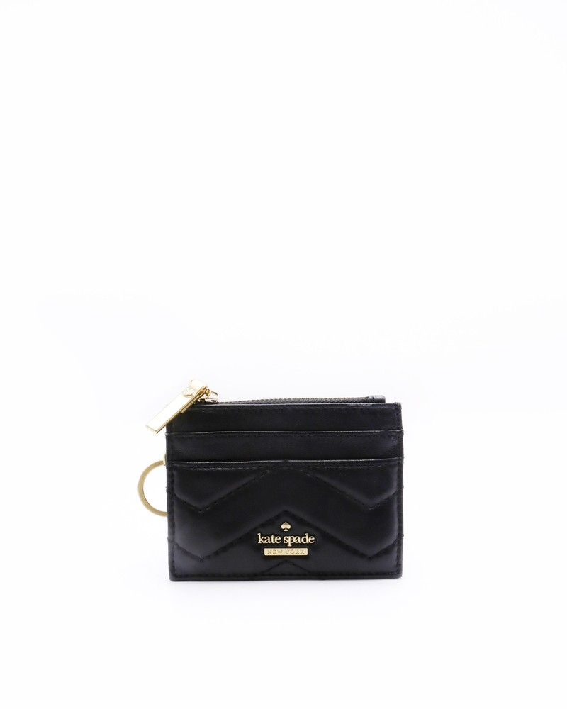 Porte monnaie / porte carte noir Kate Spade