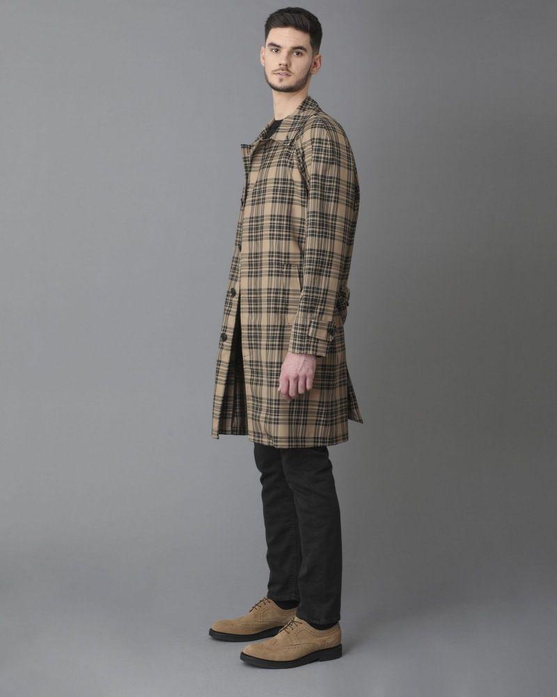 Doudoune à capuche tissu technique et duvet Paltò
