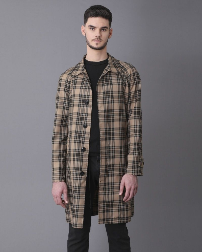 Manteau à carreaux Palto
