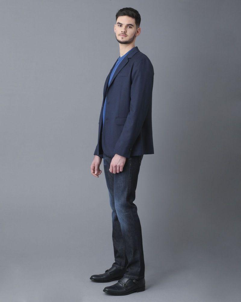 Veste blazer bleu marine Obvious