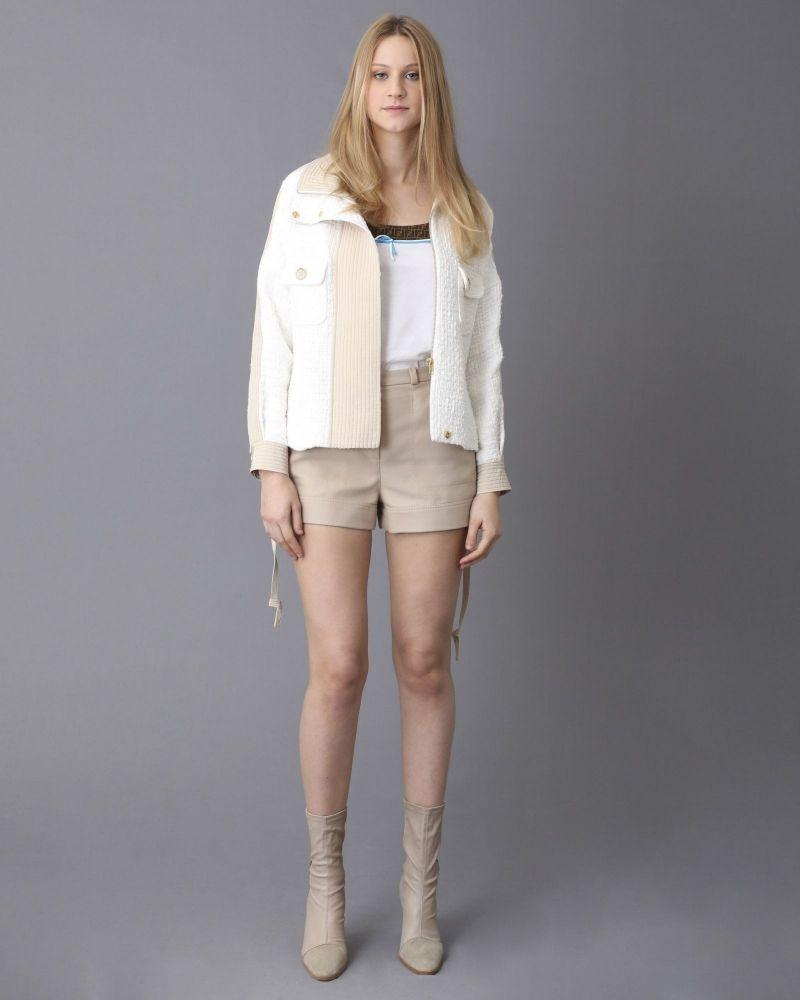 Short en laine à multi-poches Carven