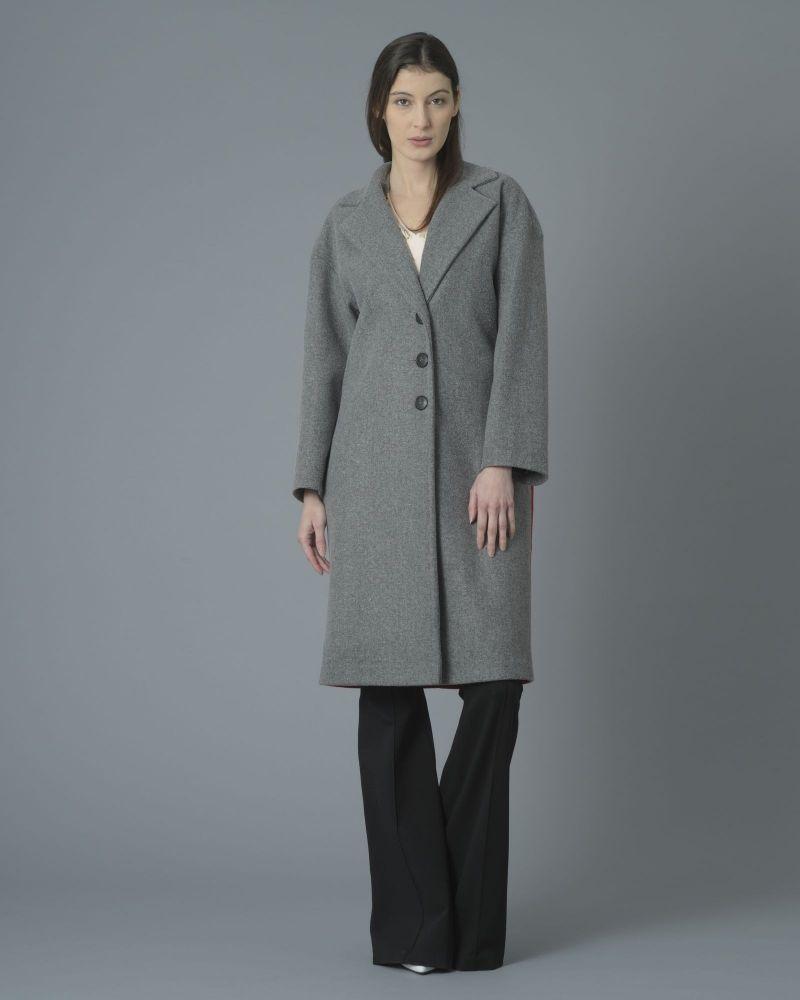 Manteau à empiècements multicolore Space Simona Corsellini