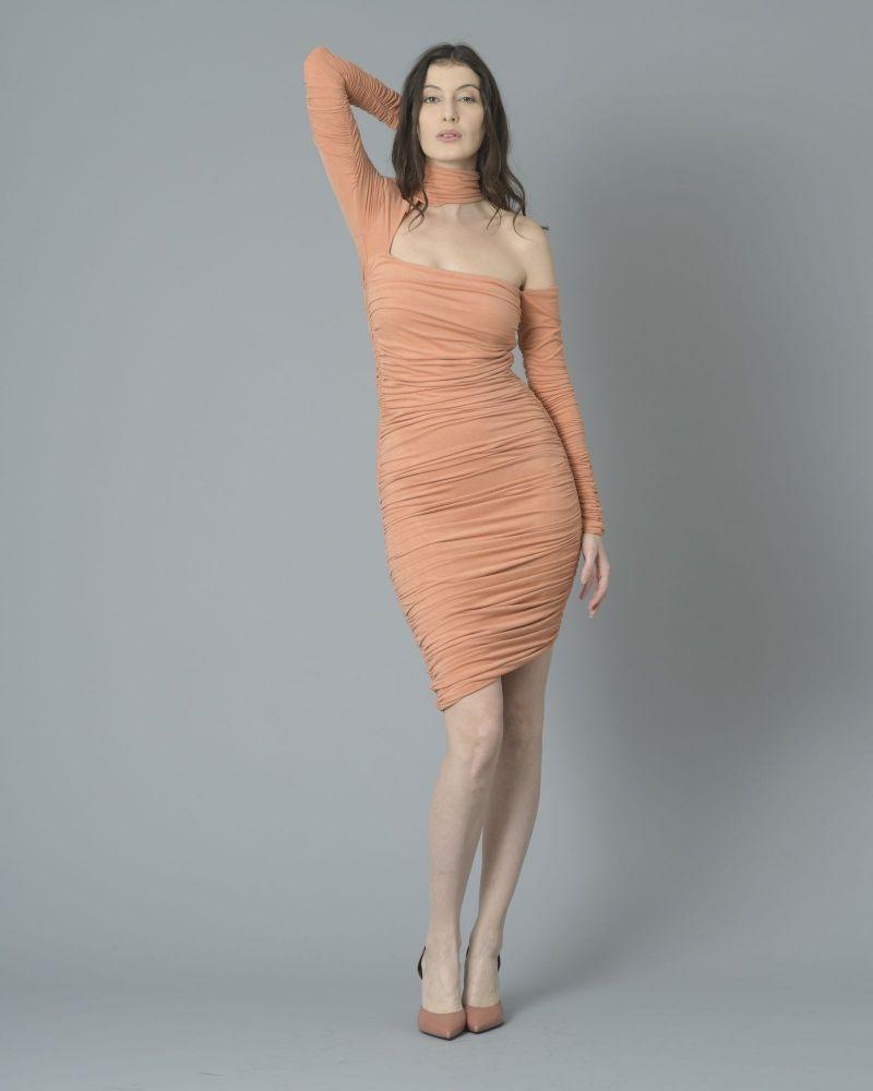 Robe plissée effet daim Elisabetta Franchi