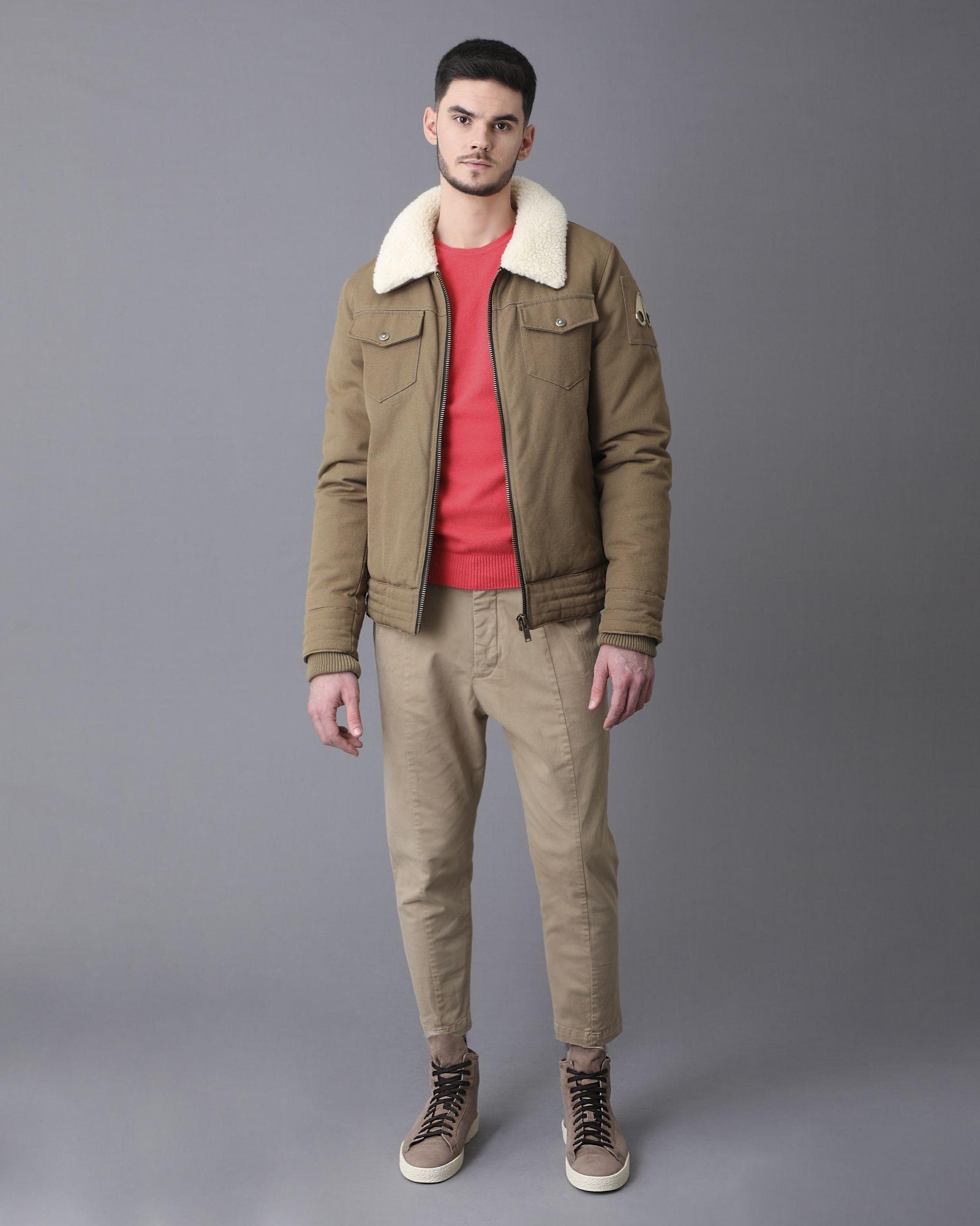 Pantalon beige Low Brand