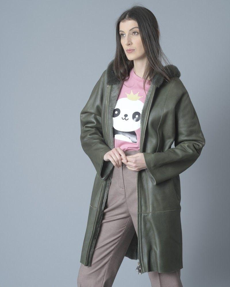 T-shirt en jersey de coton imprimé panda Jijil