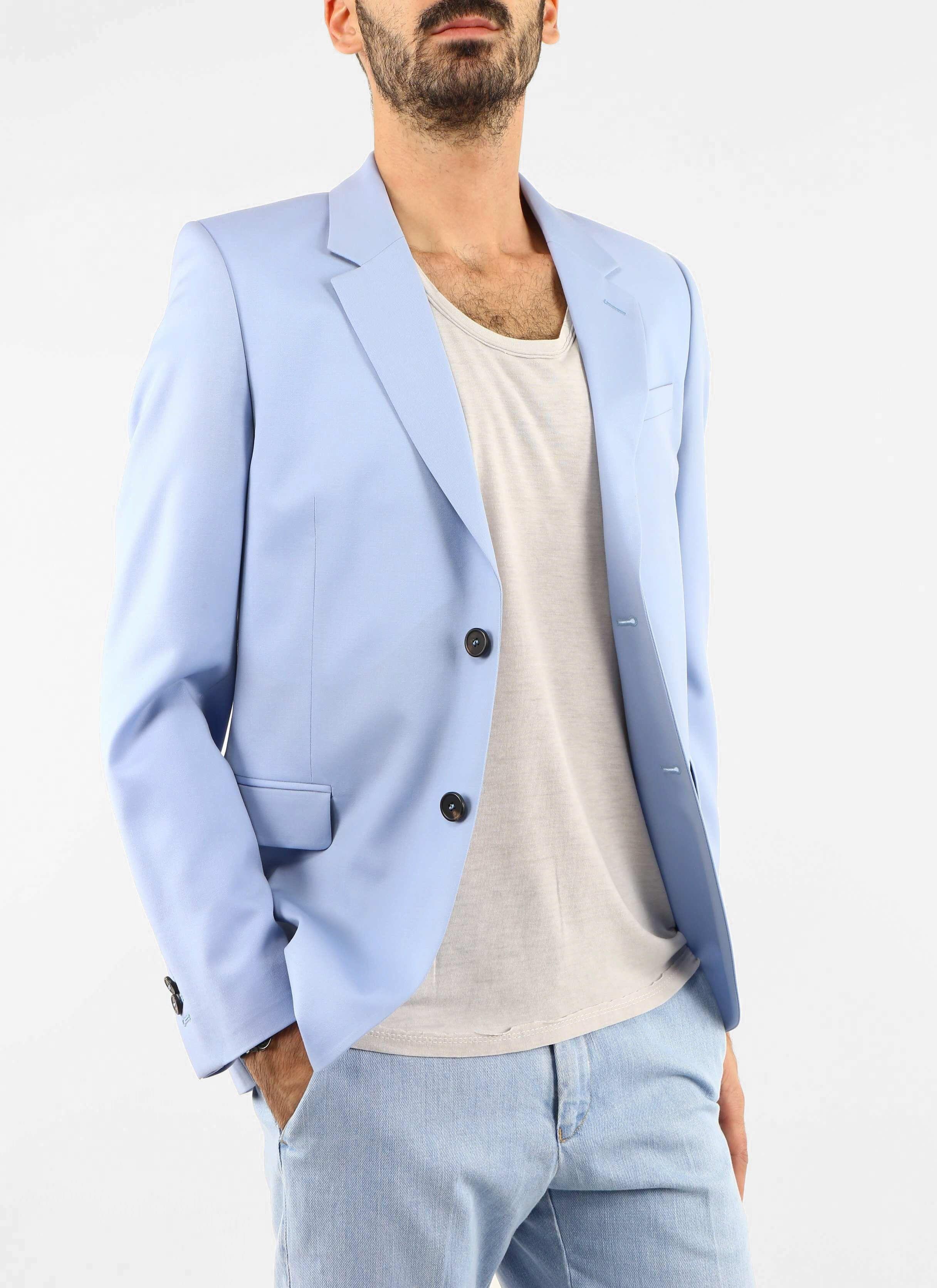 Blazer bleu Mélinda Gloss