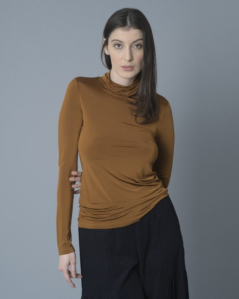 T-shirt col roulé Momoni