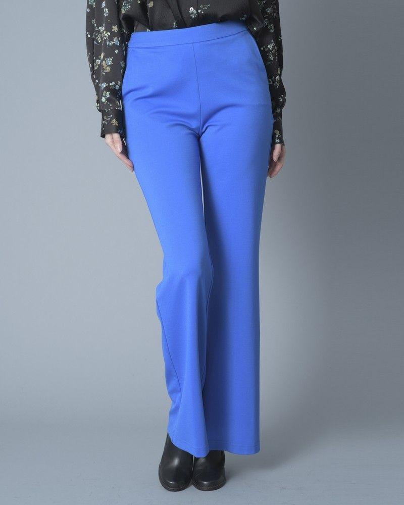 Pantalon évasé bleu éléctrique Tous les jours