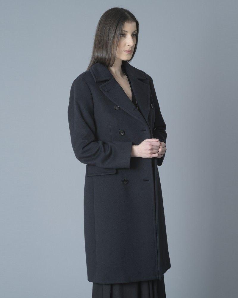 Manteau en laine à double boutonnage Palto