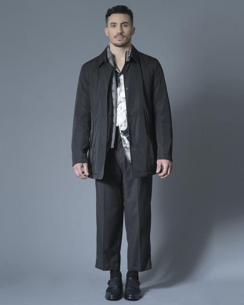 Manteau à col matelassé amovible Nino Danieli