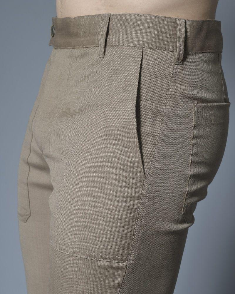 Pantalon en coton beige Archive 18-20