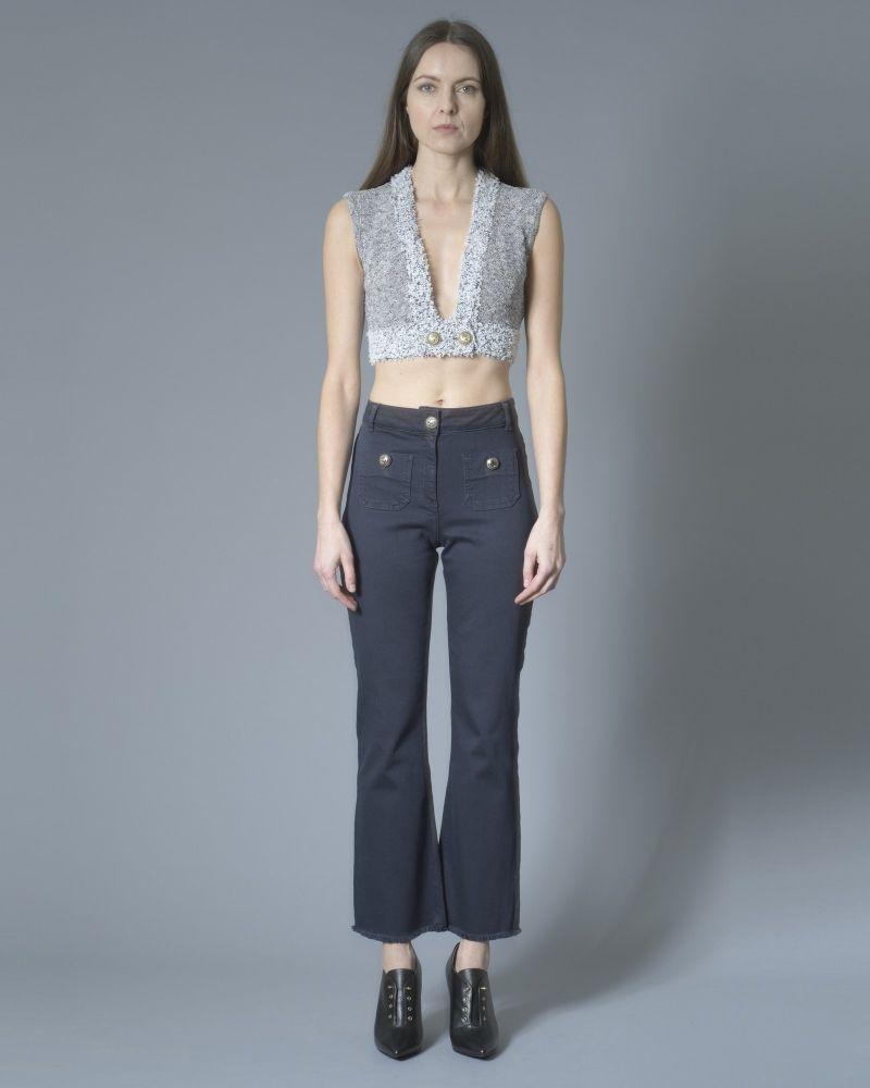 Jeans évasé taille haute Nenette