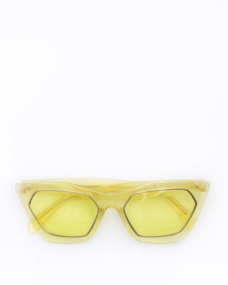 Lunettes de soleil œil-de-chat en acétate Emilio Pucci