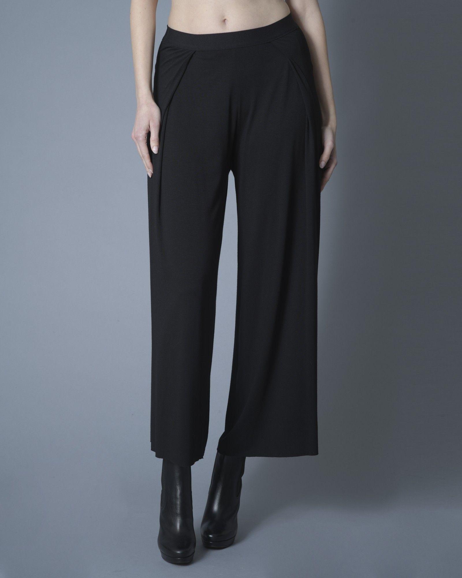Pantalon noir Stefano Mortari