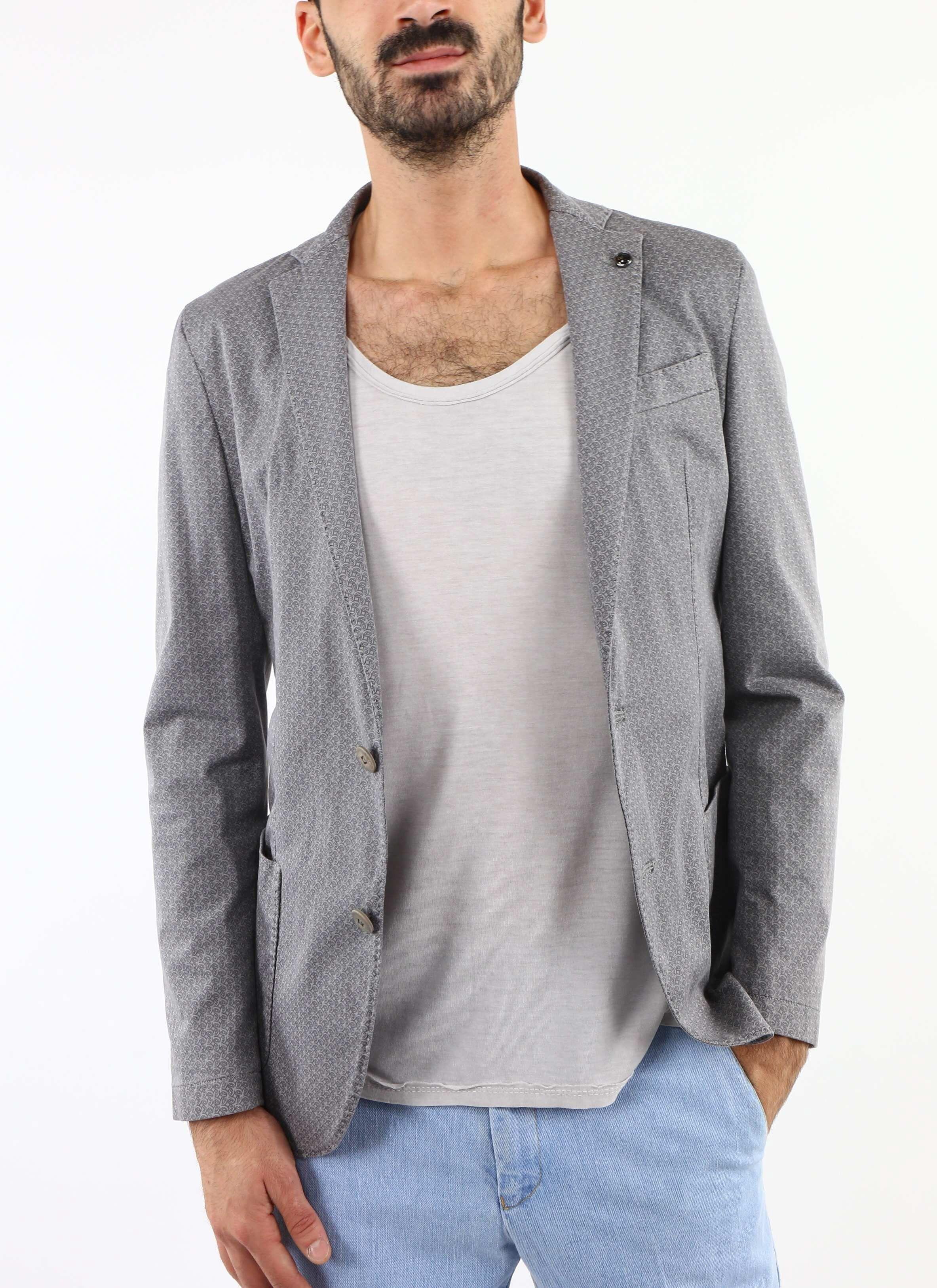 Veste grise avec motif Liu Jo