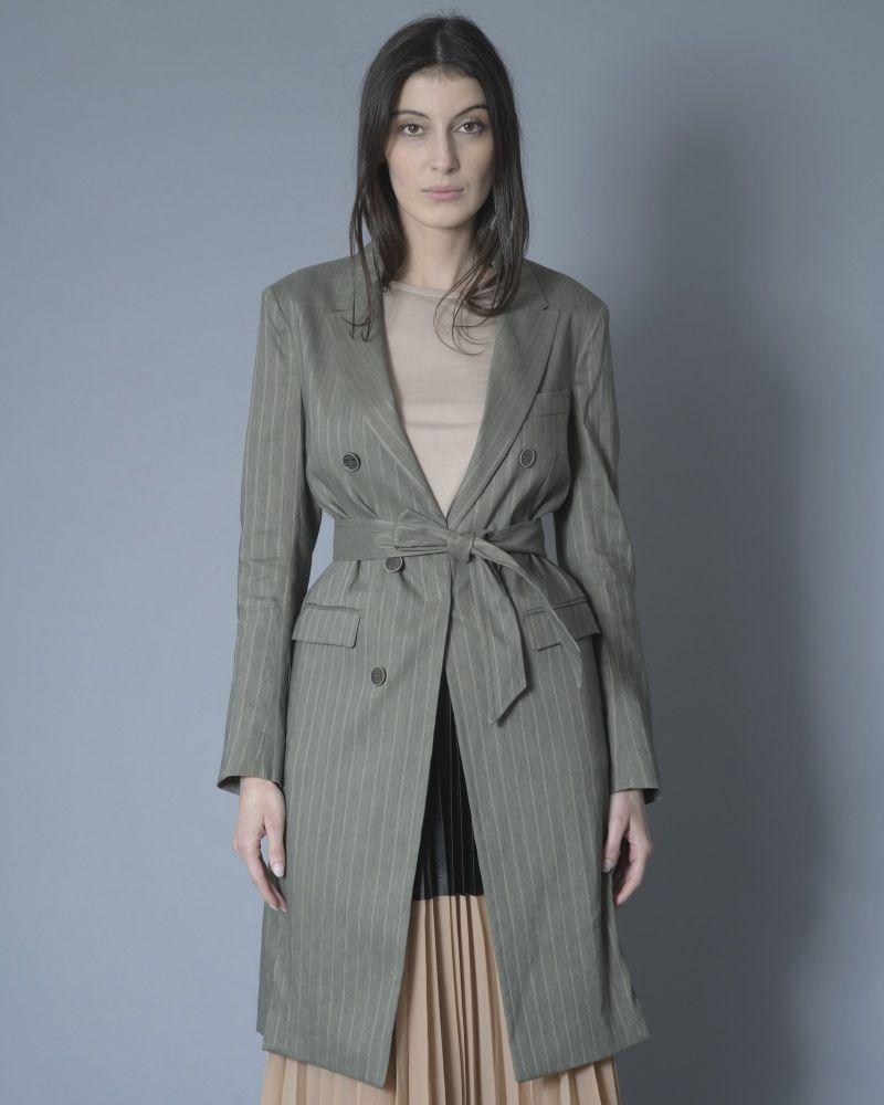 Manteau léger à rayure Eleventy